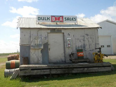 The B-A Bulk Oil Station