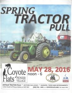 2016 Tractor Pull May 28